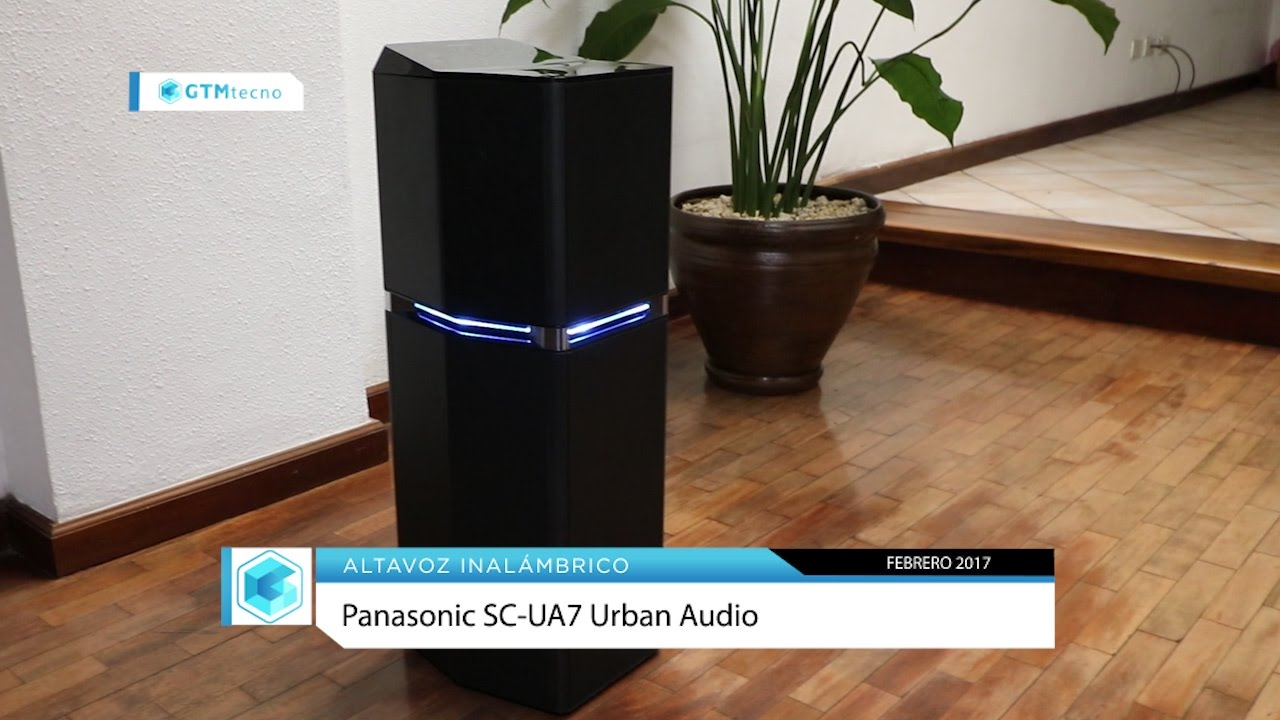 Download Altavoz Inalámbrico: Panasonic SC-UA7 Urban Audio