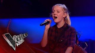 Lauren Performs 'Hallelujah': Blinds 2 | The Voice Kids UK 2018