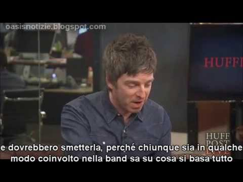 (sottot. ITA) Noel Gallagher on Oasis reunion rumours, Liam and his family 1st May 2015