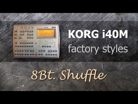 Korg i40M Factory Styles #1