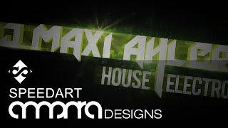 DJ Maxi Ahlers Wallpaper Design