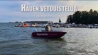 Hauen Vetouistelua Säkylän Pyhäjärvellä