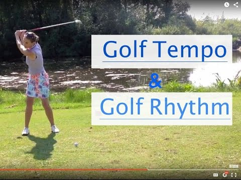 Tempo and Rythm Practice in golf swing