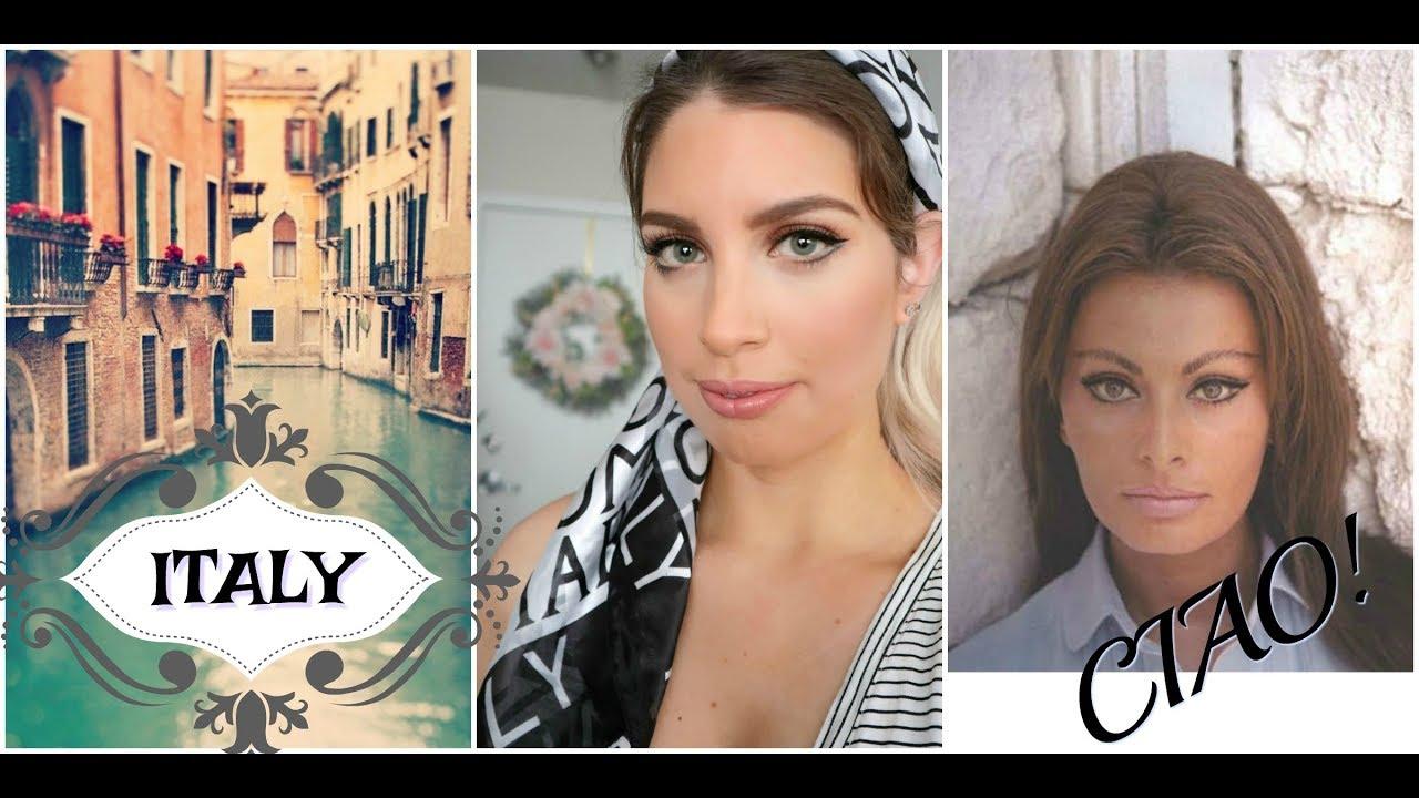 A very italian makeup tutorial sophia loren inspired youtube a very italian makeup tutorial sophia loren inspired baditri Images