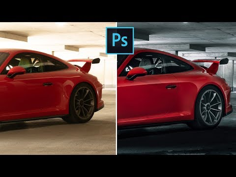 Remove Reflections From Your Car Photography Using Photoshop