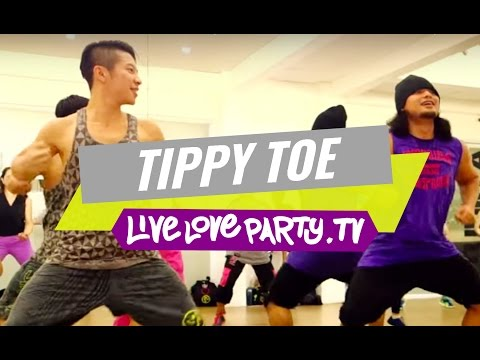 tippy-toe-|-zumba-fitness-with-zes-george-and-zes-prince-|-live-love-party