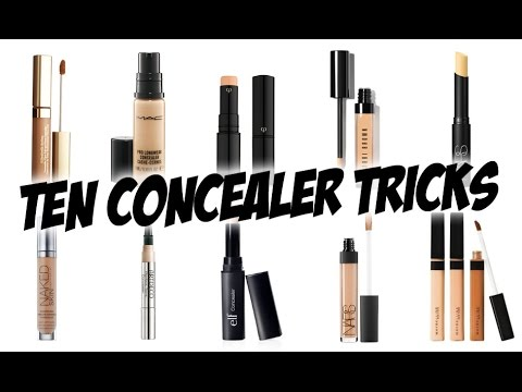 10 LIFE CHANGING CONCEALER TRICKS!