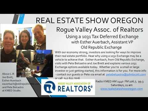 Real Estate Medford, Using a 1031 Tax Deferred Exchange