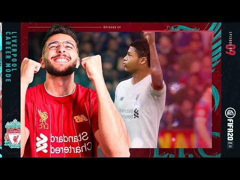 RHIAN BREWSTERS DREAM COME TRUE! - FIFA 20 LIVERPOOL CAREER MODE #9