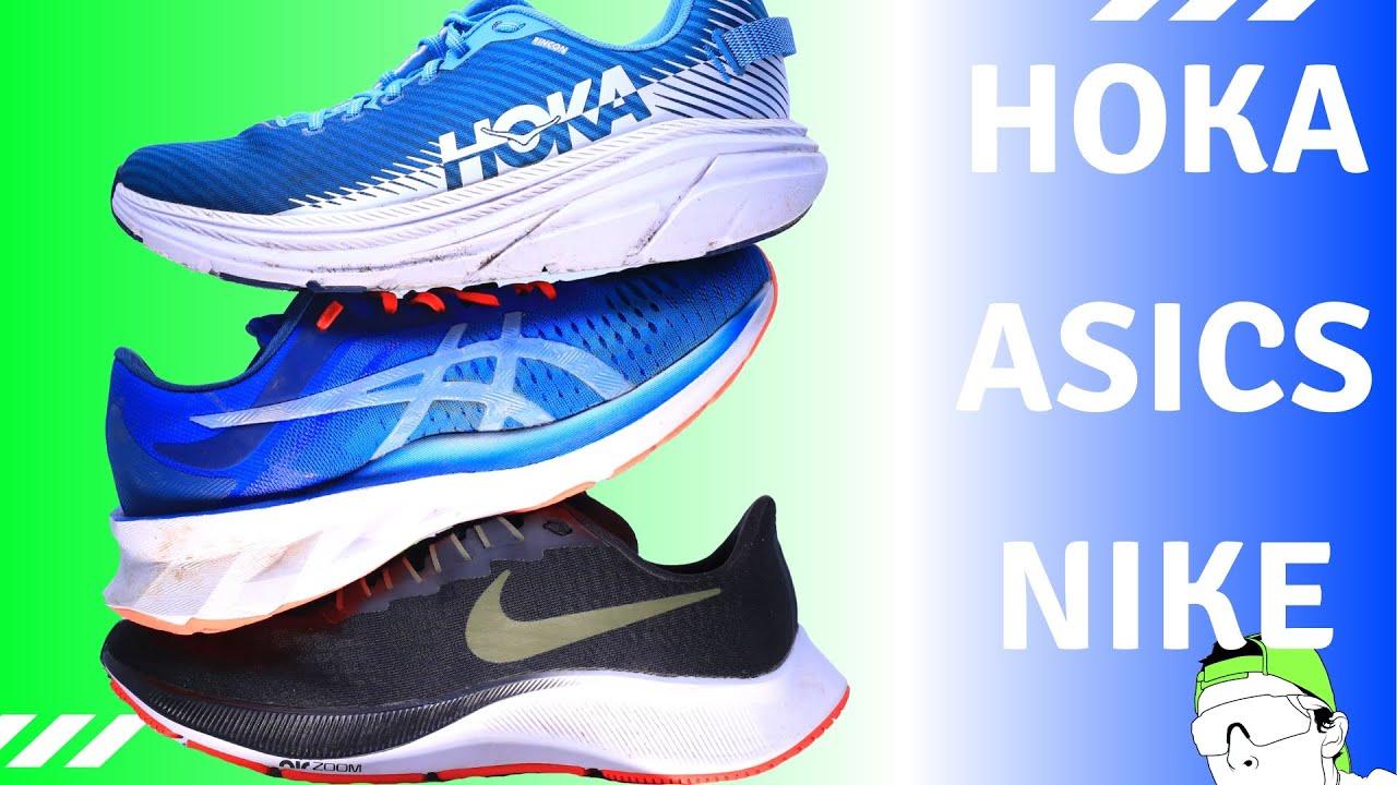 Running Shoe Full Reviews: Asics, Hoka