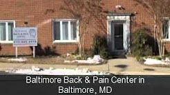 Baltimore Back & Pain Center in Baltimore, MD (410) 662-4476
