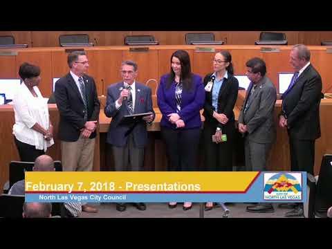 February 7, 2018 North Las Vegas City Council Meeting