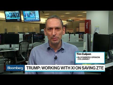 Culpan Says Trump's ZTE Tweets Points to Pyongyang, Singapore, Oslo