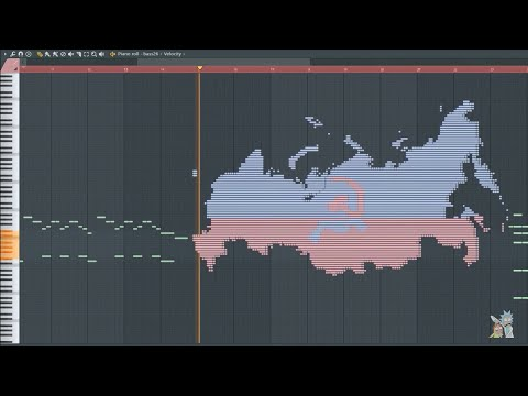 What Mother Russia Sounds Like - MIDI Art