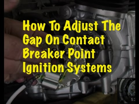 Sbtv How To Adjusting The Contact Breaker Point Gap On A Honda Cb750