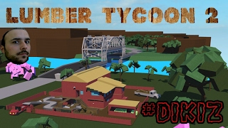 Cut Timber from the Mountain - Roblox :Lumber Tycoon #Dikiz
