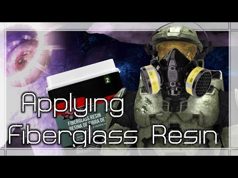 How to Apply Fiberglass Resin | Mjolnir Mk VI Torso