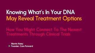 Ovarian Cancer Precision Medicine Webinar