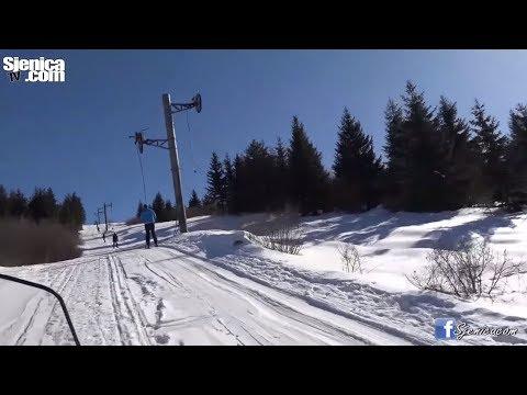 ŽARI SJENICA - Jedan sunčan dan na skijanju uz muziku i snijeg