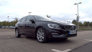 2016 Volvo V60 2.0 D4 190 SE Lux Nav Start-Up and Full Vehicle Tour
