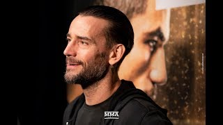 UFC 225: CM Punk on His Wrestling Advice to Ronda Rousey, Why He Cant Watch Wrestling - MMA Fighting