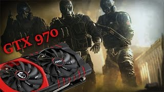 Tom Clancy's Rainbow Six: Siege GTX 970