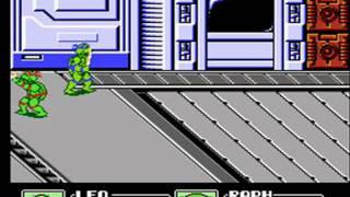 Teenage Mutant Ninja Turtles III: The Manhattan Project NES 2 player Netplay game
