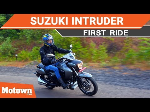 All-New Suzuki Intruder 150cc Cruiser | First Ride | Motown India