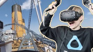 TITANIC ROLLER COASTER IN VIRTUAL REALITY! | No Limits 2 VR Simulator (HTC Vive Gameplay)