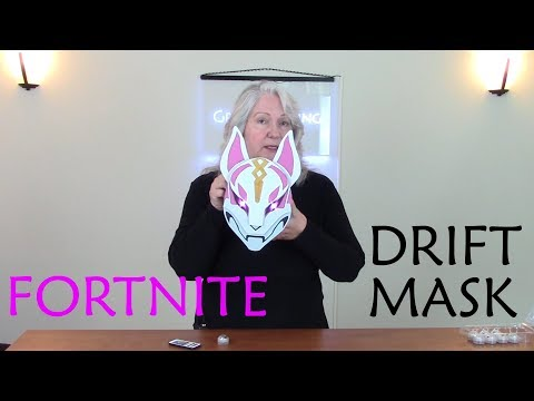 How to Make Glowing Wall Art Inspired by Drift's Mask in Fortnite