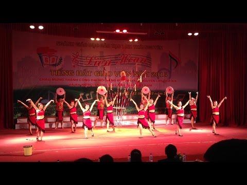 Múa Âm vang Tây Nguyên - tập thể GV trường thpt Định Hóa - tỉnh Thái Nguyên