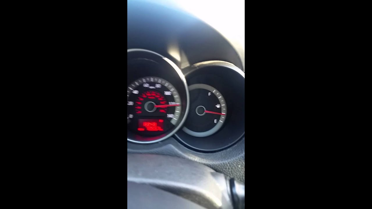 kia forte koup going over 120mph  top speed