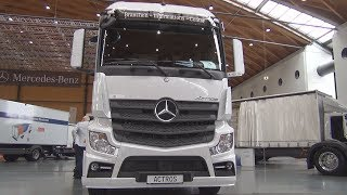 Mercedes-Benz Actros 1842 Tractor Truck (2018) Exterior and Interior