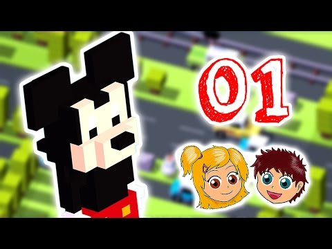 Disney Crossy Road – Das Lustige Spiel mit den Pixar Helden – Die Besten Kinder Apps