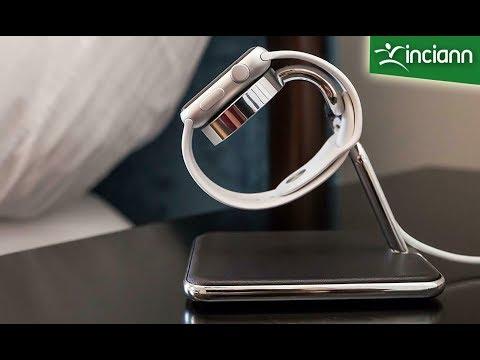 Stand di lusso Forté per Apple Watch acciaio e vera pelle by TwelveSouth