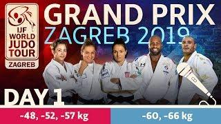 Judo Grand-Prix Zagreb 2019: Day 1