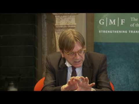 Europe's Last Chance: A Transatlantic Talk with Guy Verhofstadt, MEP