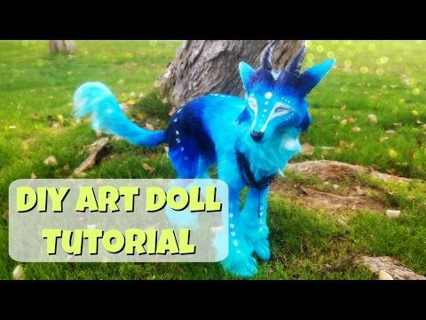 Unda ( Diy Art Doll) Tutorial