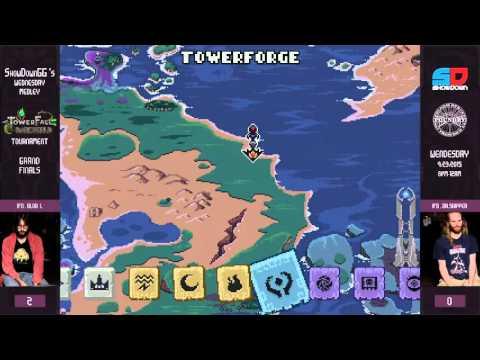 Towerfall #2 - Grand Finals - IFD|Blob vs IFD|Dr. Skipper
