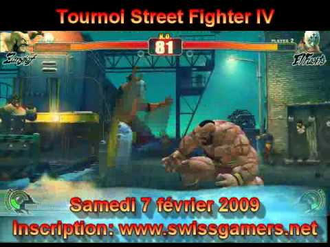 Street Fighter IV - Tournoi Swiss Gamers Network