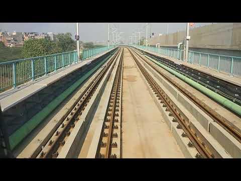 Sneak Preview of Delhi Metro Magenta Line (Line 8 - Kalkaji to Botanical Garden)