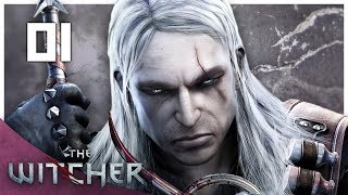 Let's Play The Witcher 1 Blind Part 1 - Kaer Morhen [Modded Witcher Enhanced Edition PC Gameplay]