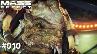 MASS EFFECT ANDROMEDA #010 - Neue Freunde? - Let's Play Mass Effect Andromeda Deutsch / German