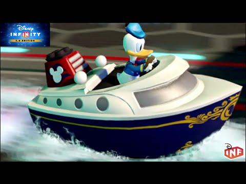 Disney Infinity Donald Duck Sails Disney Cruise Ship Road To - Toy disney cruise ship