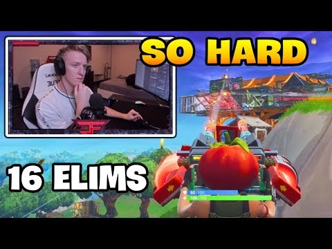 This Is How Tfue Use MOUNTED TURRET In FOOD FIGHT LTM   Fortnite Battle Royale Gameplay