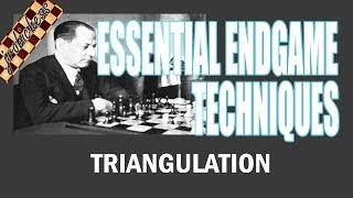Chess Endgame Study: Triangulation