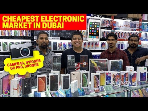 DUBAI CHEAPEST ELECTRONICS MARKET 2019 | My New LENS And CAMERA | 😍😍😍