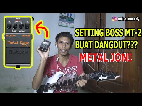 Setting Metal Zone Buat Dangdut??