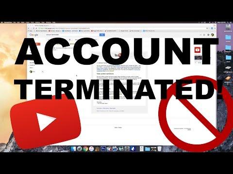 My YouTube Account was TERMINATED!