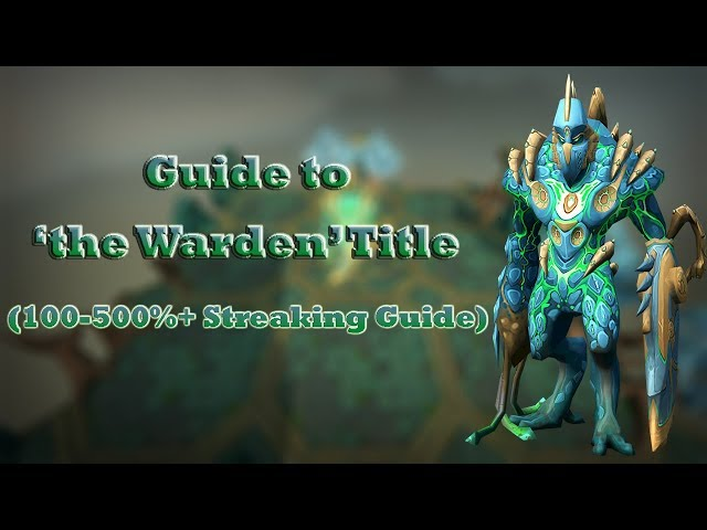RuneScape 3: Telos Guide 2017 — Guide to the Warden Title (100-500%+ Streaking Guide)